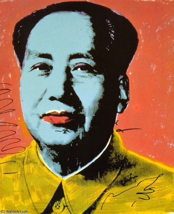 famous painting mao of Andy Warhol