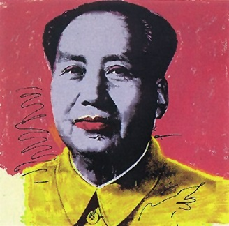 famous painting mao91 of Andy Warhol