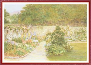 Arthur Hughes - foord the walled garden