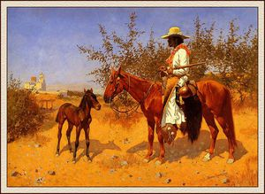 Frederic Remington - the sentinel