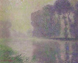 Gustave Loiseau - By the River Eure