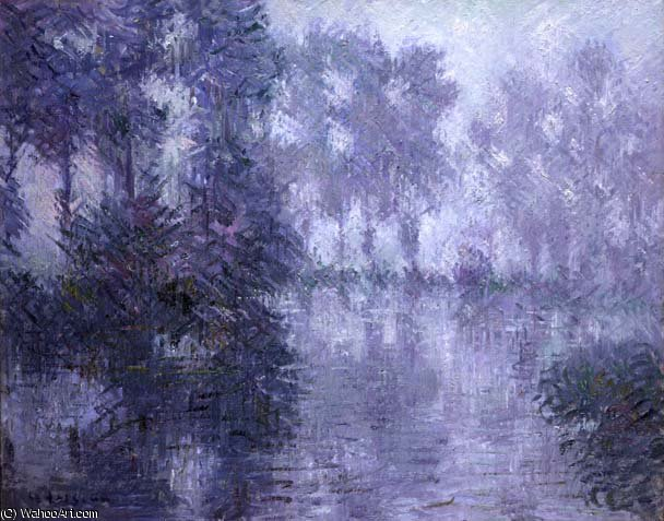 famous painting The Banks of the Eure of Gustave Loiseau