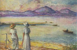 Henri Lebasque - Bay at St Tropez