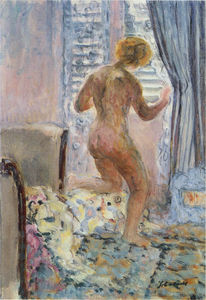 Henri Lebasque - Nude by a window
