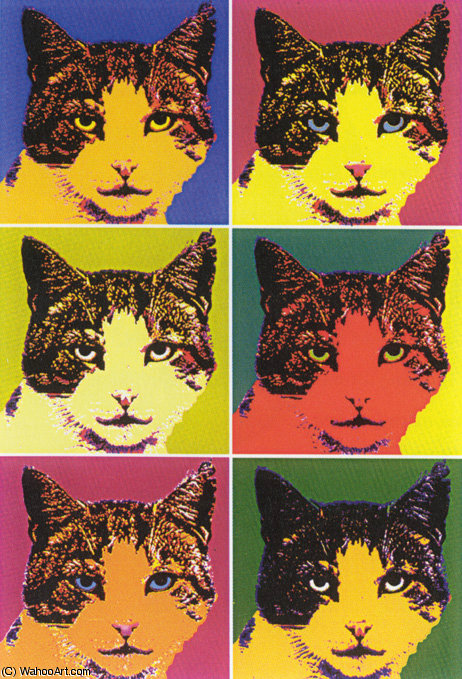 famous painting untitled (1780) of Andy Warhol