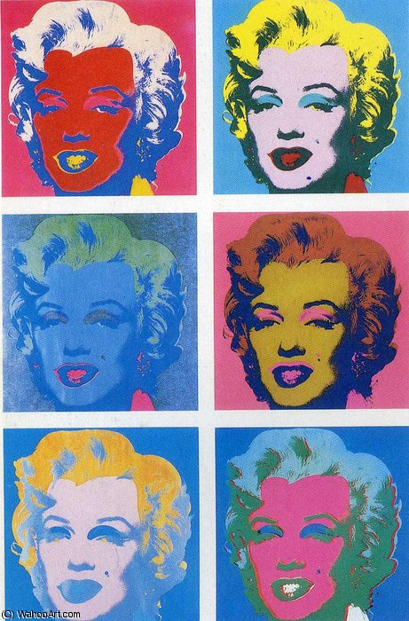 famous painting untitled (5109) of Andy Warhol