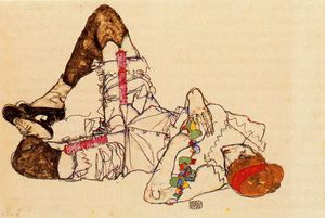 Egon Schiele - untitled (9391)