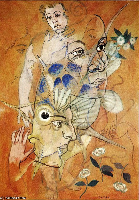 famous painting untitled (4222) of Francis Picabia