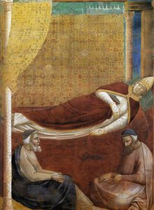 Giotto Di Bondone - Dream of Innocent III (detail)2