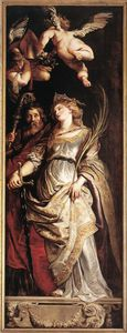 Peter Paul Rubens - Sts Eligius and Catherine