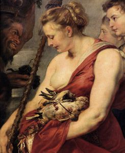 Peter Paul Rubens - Diana Returning from Hunt (detail)