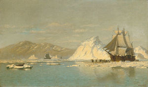William Bradford - Off greenland