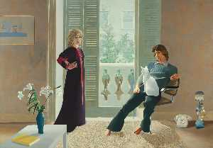 David Hockney - Clark percy