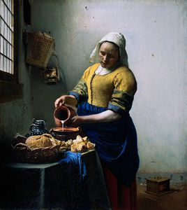 Jan Vermeer - Kitchen maid