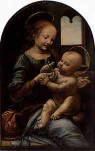 Leonardo Da Vinci - The Madonna and Child (The Benois Madonna)