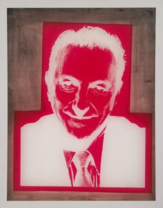 Andy Warhol - Silkscreen for Portrait of Sidney Janis