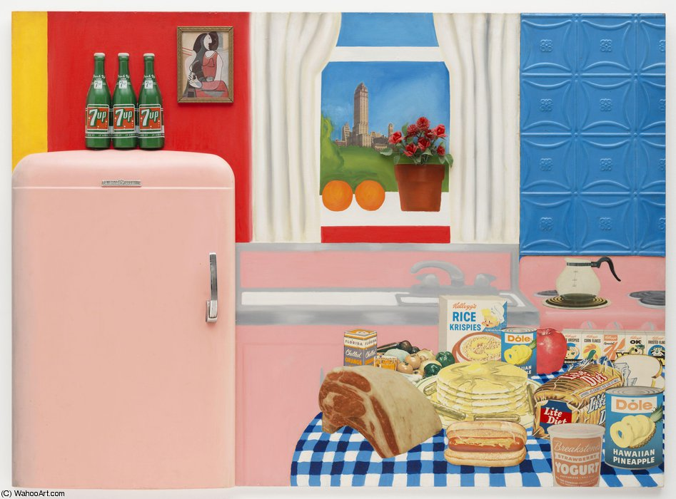 famous painting Still life #30 of Tom Wesselmann