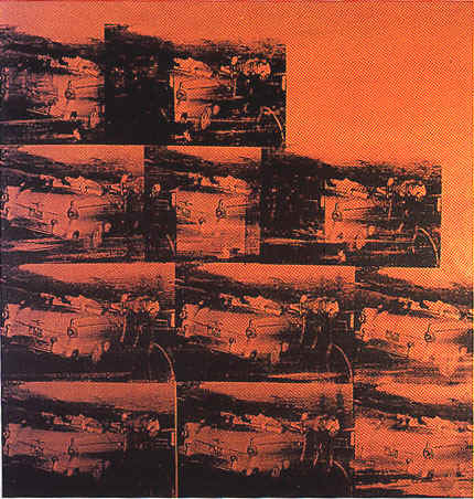 famous painting 5 death 11 times of Andy Warhol