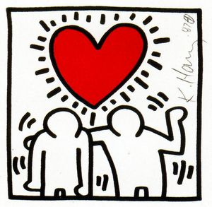 Keith Haring - Untitled (434)