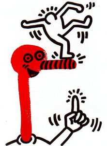 Keith Haring - Untitled (573)