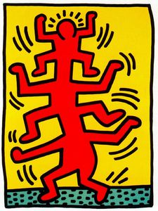 Keith Haring - Untitled (298)