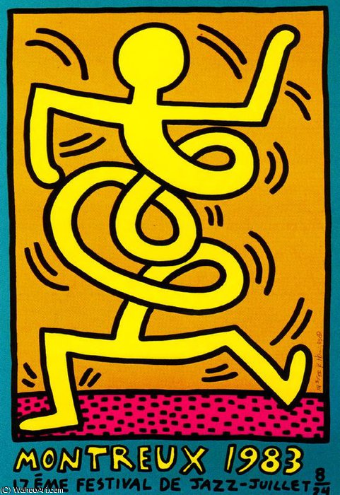 | Untitled (163) by Keith Haring | BuyPopArt.com