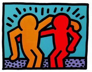 Keith Haring - Untitled (283)