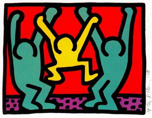 Keith Haring - Untitled (785)