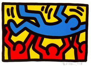 Keith Haring - Untitled (812)