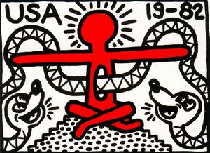 Keith Haring - Untitled (301)
