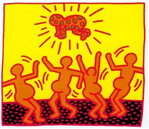 Keith Haring - Untitled (701)