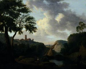 Richard Wilson - Landscape with a River