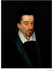 Francois The Elder Quesnel - Portrait of Henri III King of France from Assassinated in Paris