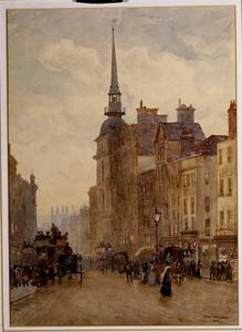 Herbert Menzies Marshall - Looking down Ludgate Hill