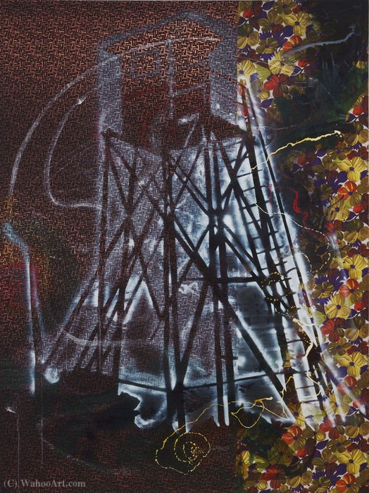 famous painting Watchtower of Sigmar Polke