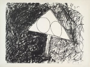 Robert Motherwell - Untitled from Madrid Suite