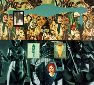 David Salle - Untitled (904)