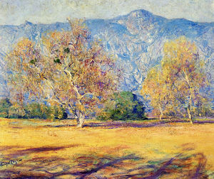 Guy Rose - The sycamores, pasadena, (1918)