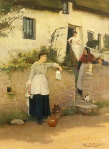 Carlton Alfred Smith - Neighbourly gossip