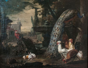 David De Coninck - Animals in a Garden