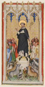 Master Of Saint Veronica - Anthony Abbot Blessing the Animals, the Poor, and the Sick