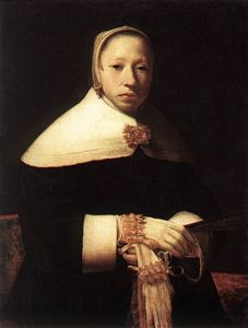 Willem Drost - Portrait of a Woman