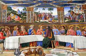 Cosimo Rosselli - The Last Supper (after restauration)