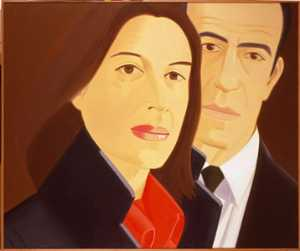 Alex Katz - Ada and Alex