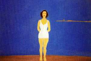 Alex Katz - Bather