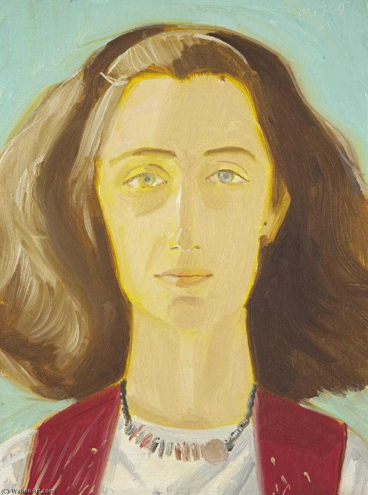 famous painting Eli's friend of Alex Katz