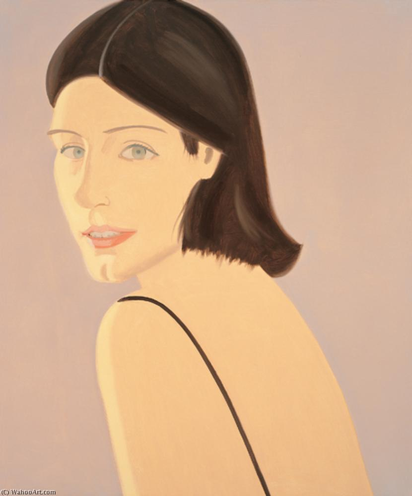 famous painting Isca of Alex Katz