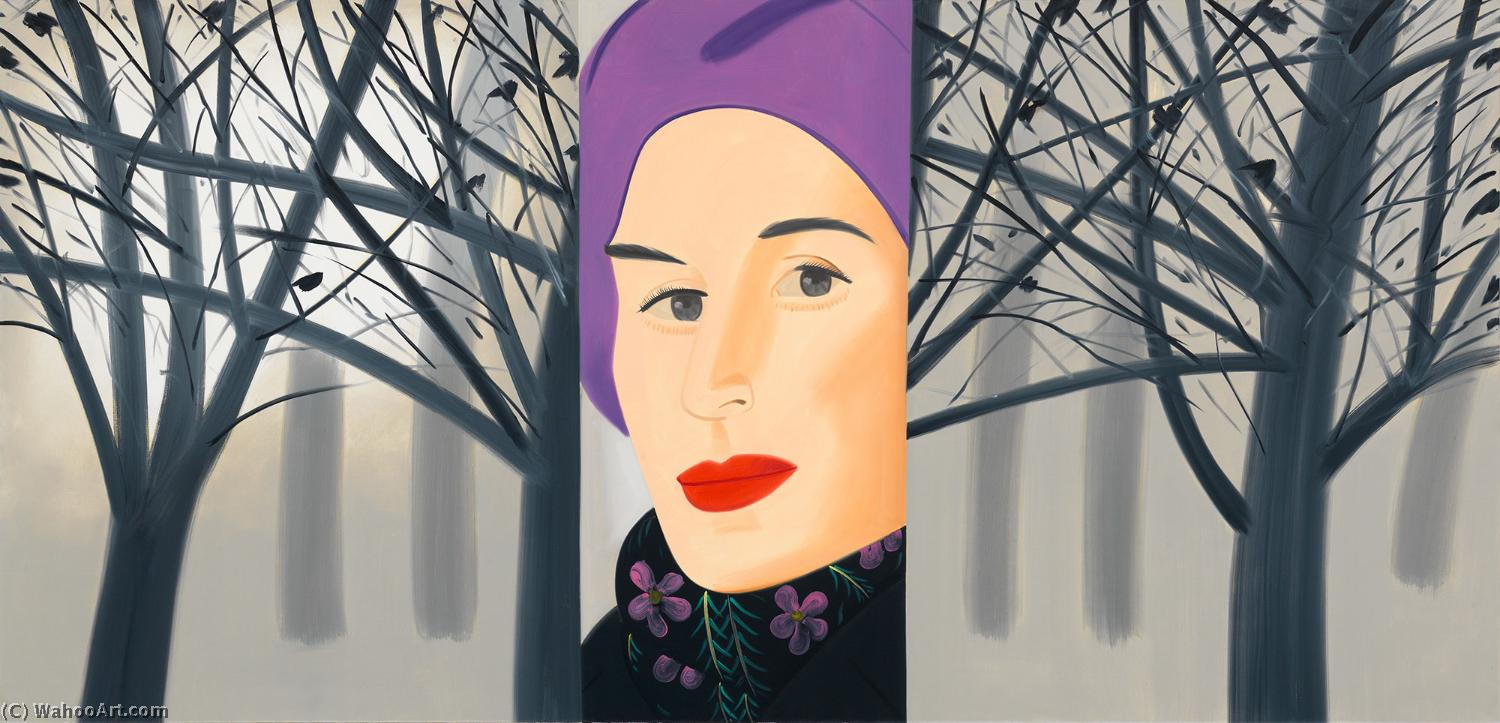 famous painting January 3 (1993) of Alex Katz