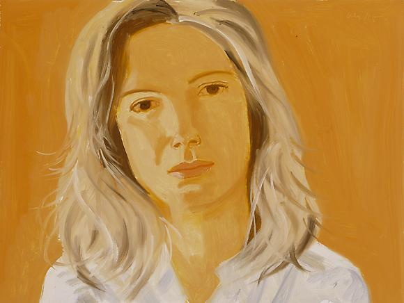famous painting Leigh of Alex Katz