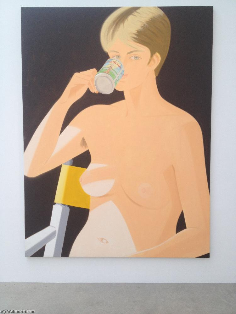 famous painting Morning nude of Alex Katz